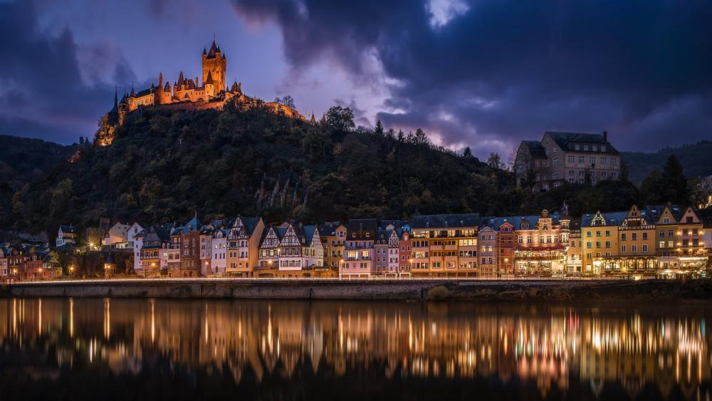 Cochem Castle wallpaper