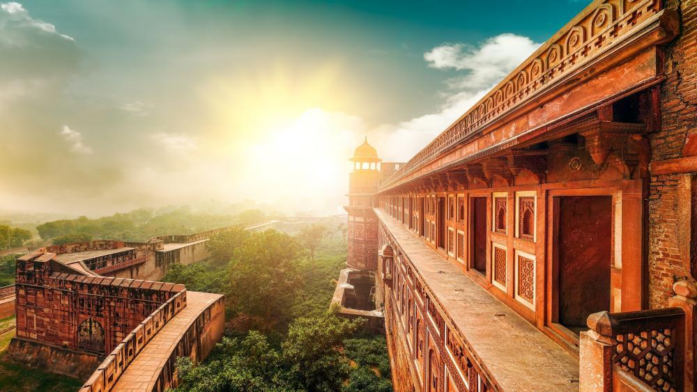 Agra Fort wallpaper