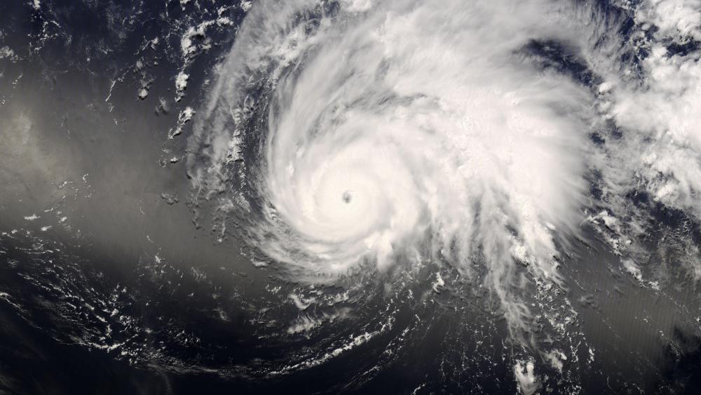 Typhoon Nakri wallpaper