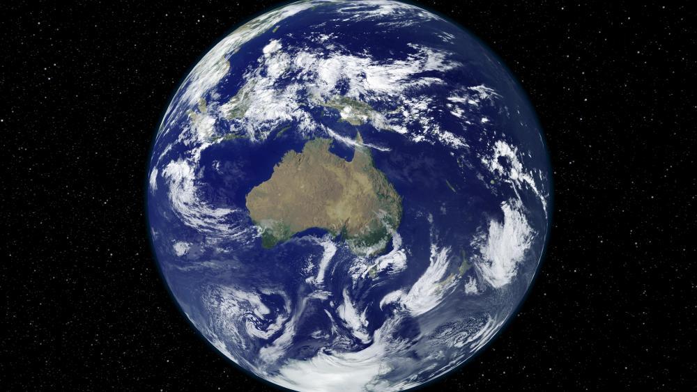 Light and Dark Image Pair: Australia and Oceania () wallpaper