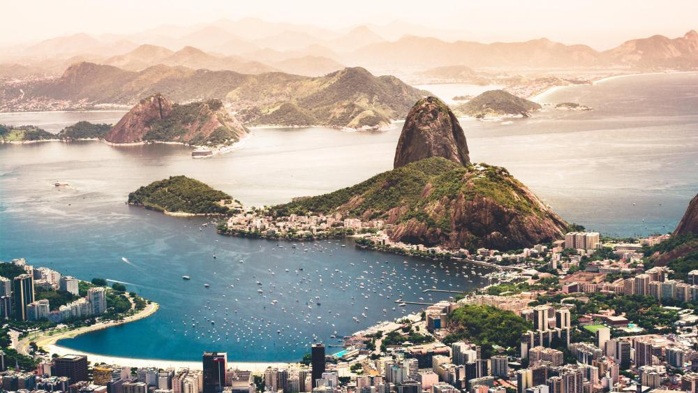 ,Botafogo Beach, Rio De Janeiro wallpaper