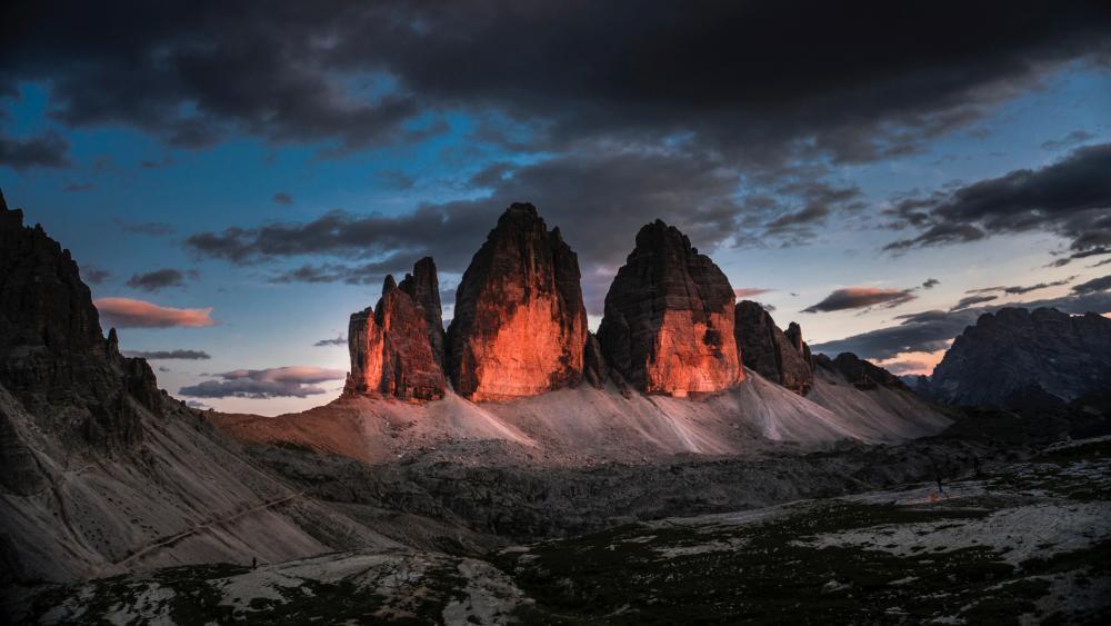 Dolomites - Three Peaks Nature Park wallpaper