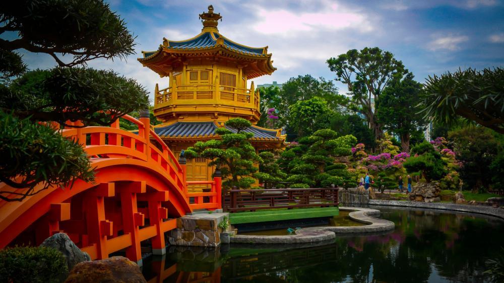 Nan Lian Garden wallpaper