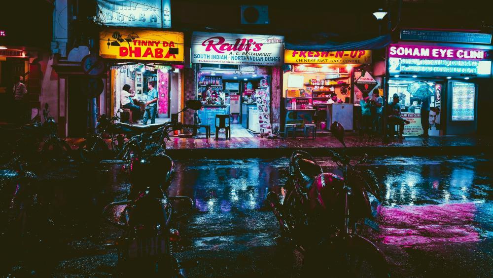 Osaka Nightlife wallpaper