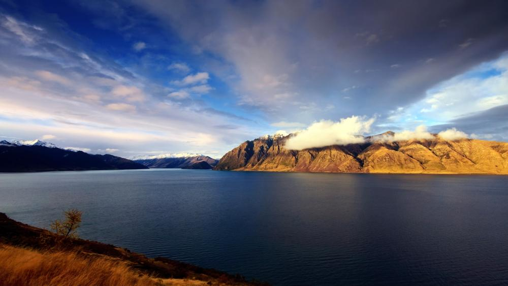 Lake Hawea wallpaper