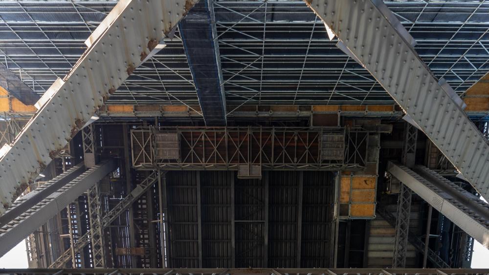 Sydney Harbour Bridge from Below wallpaper