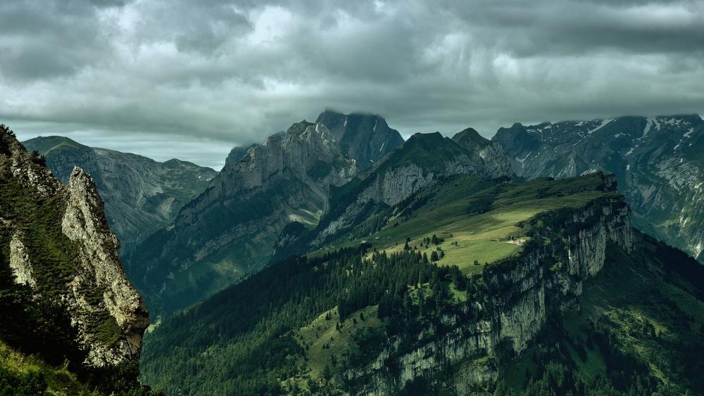 Appenzell Alps wallpaper