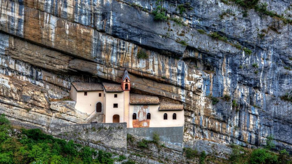 Eremo di San Colombano, Trambileno, Italy wallpaper