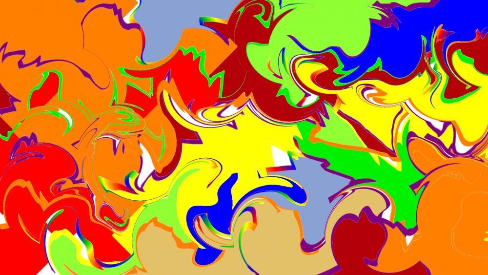 Colorful Mixtures 2020 wallpaper