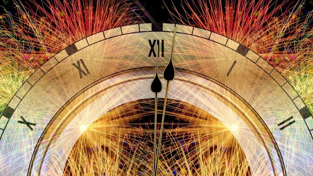 New Year countdown wallpaper