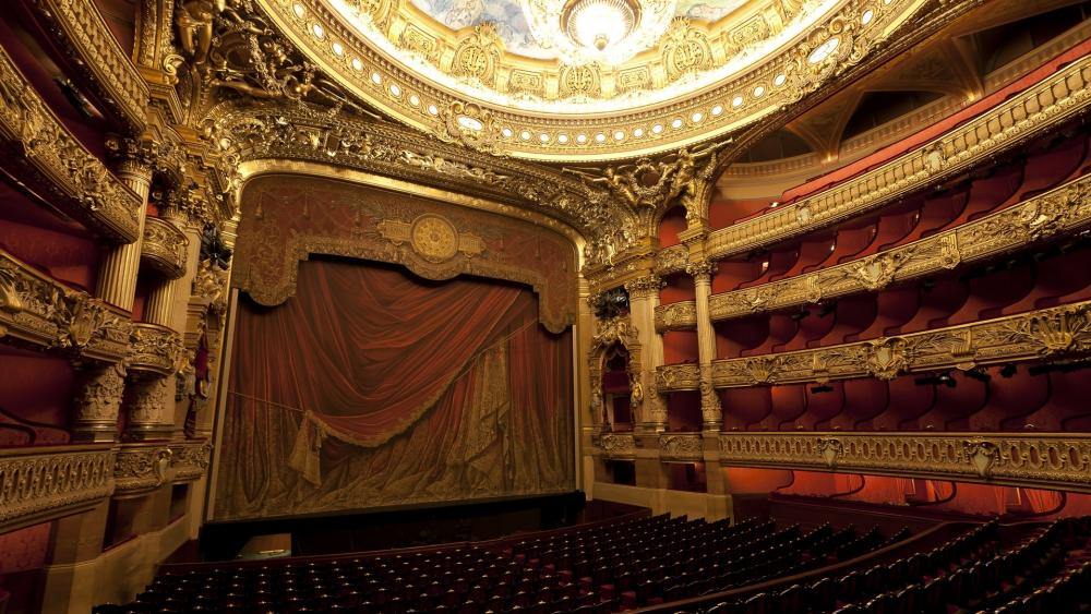 Palais Garnier wallpaper