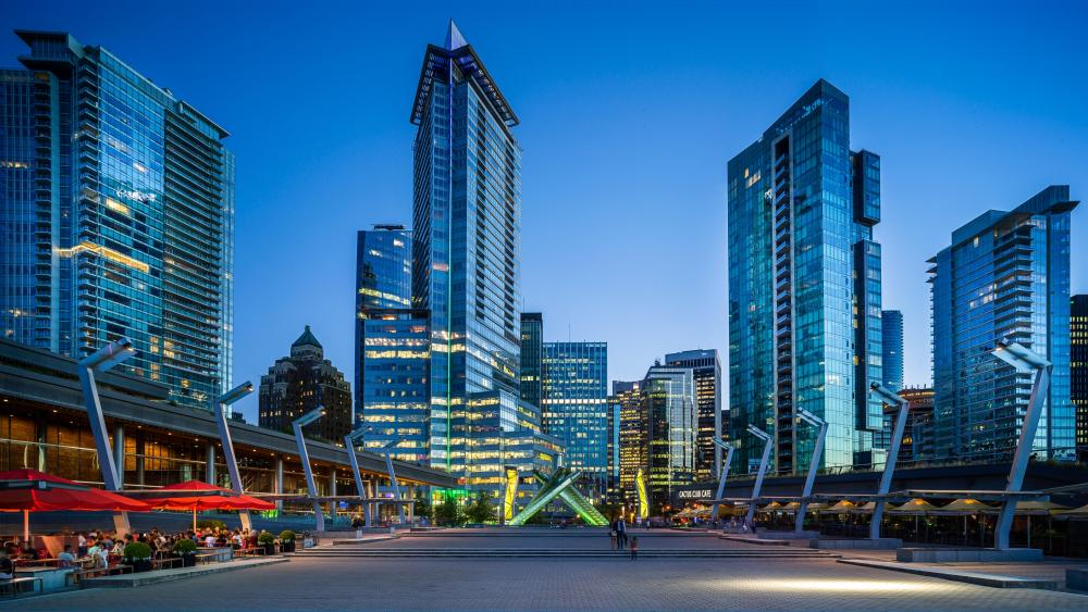 Jack Poole Plaza in Vancouver, Canada wallpaper