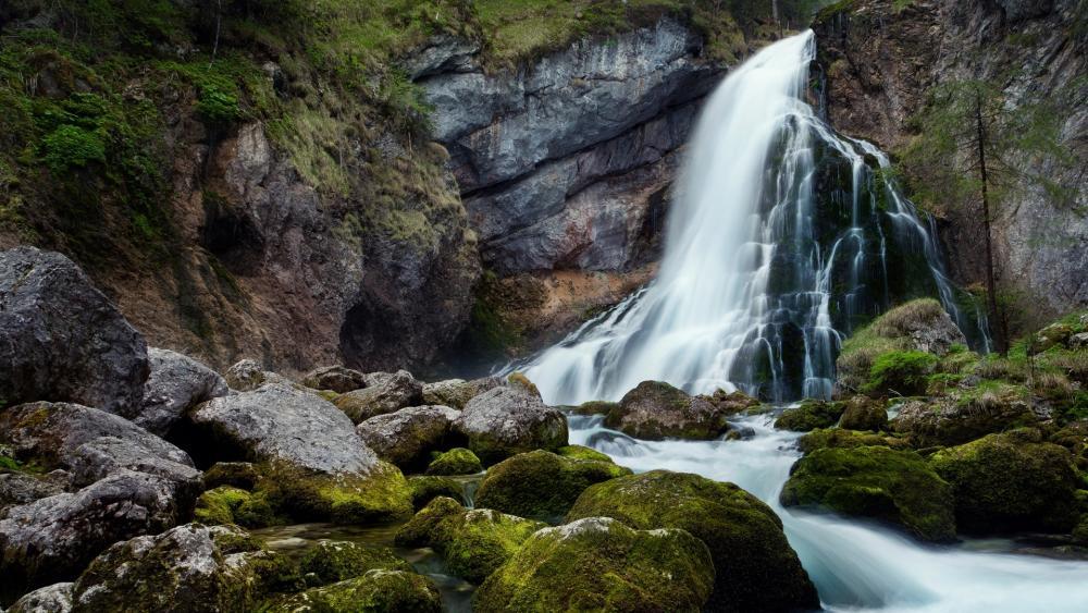 Golling Waterfall, Austria wallpaper