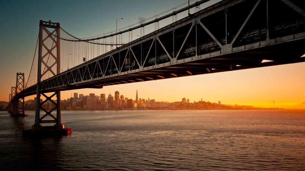 Oakland Bay Bridge wallpaper