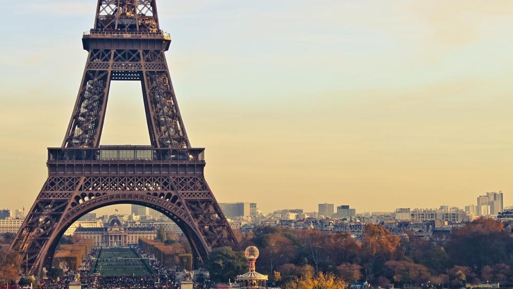 Eiffel Tower and Paris wallpaper