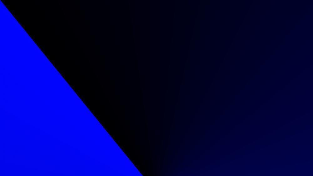 Blue band wallpaper