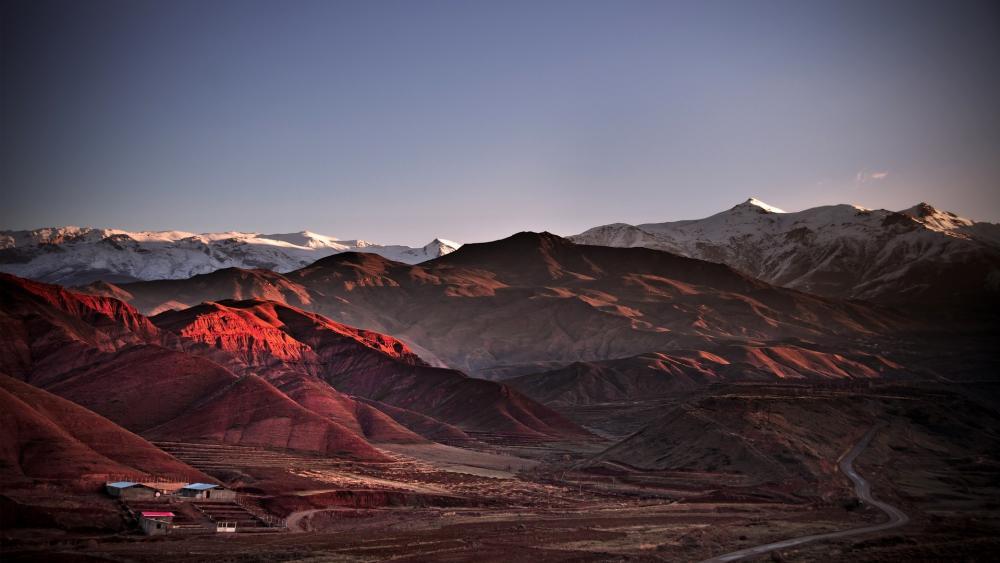Alamut mountains wallpaper