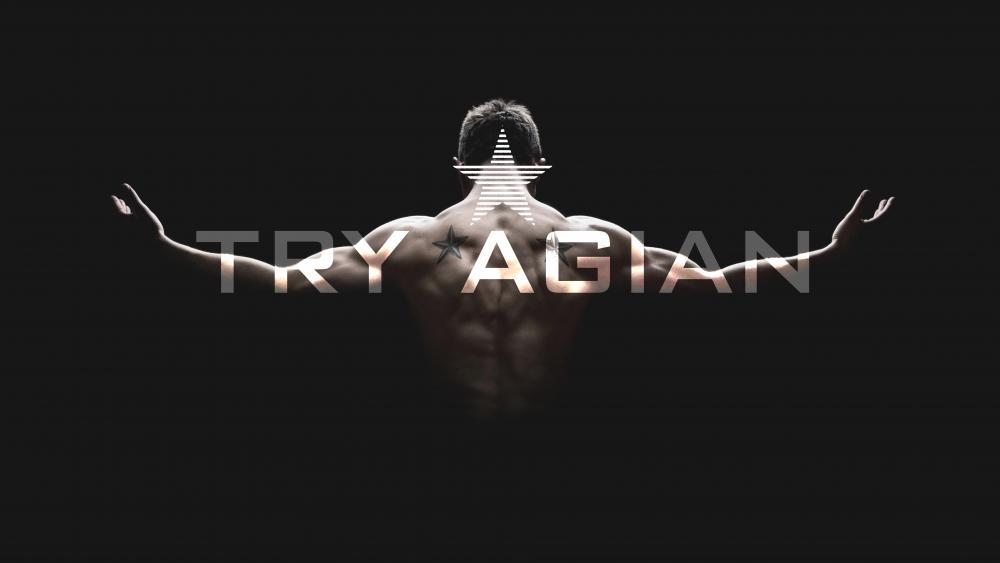 Try agian wallpaper