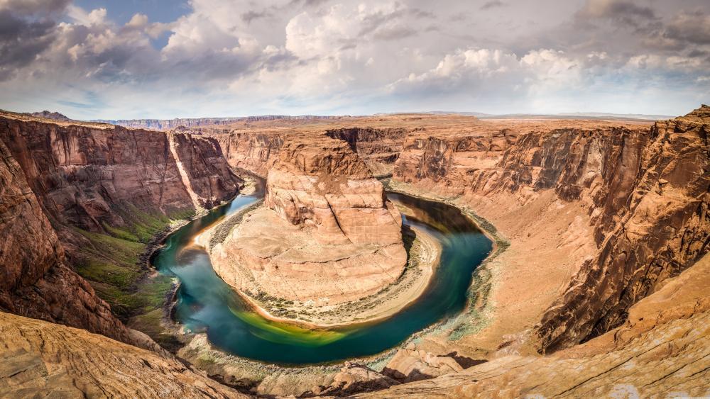Horseshoe Bend Arizona United States wallpaper