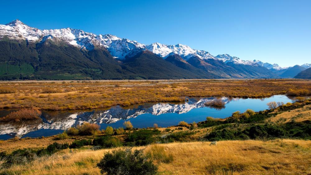 New Zealand landscape wallpaper