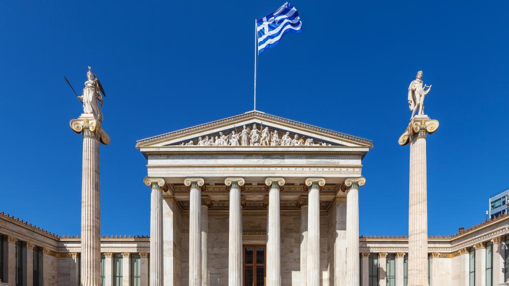 Academy of Athens, Greece wallpaper