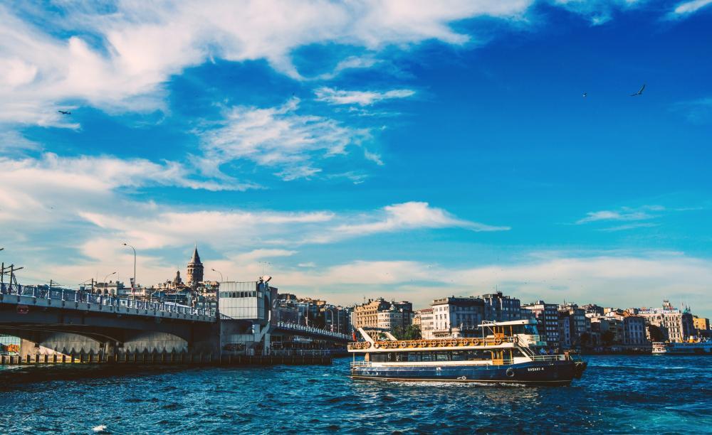 Galata Bridge, Golden Horn wallpaper
