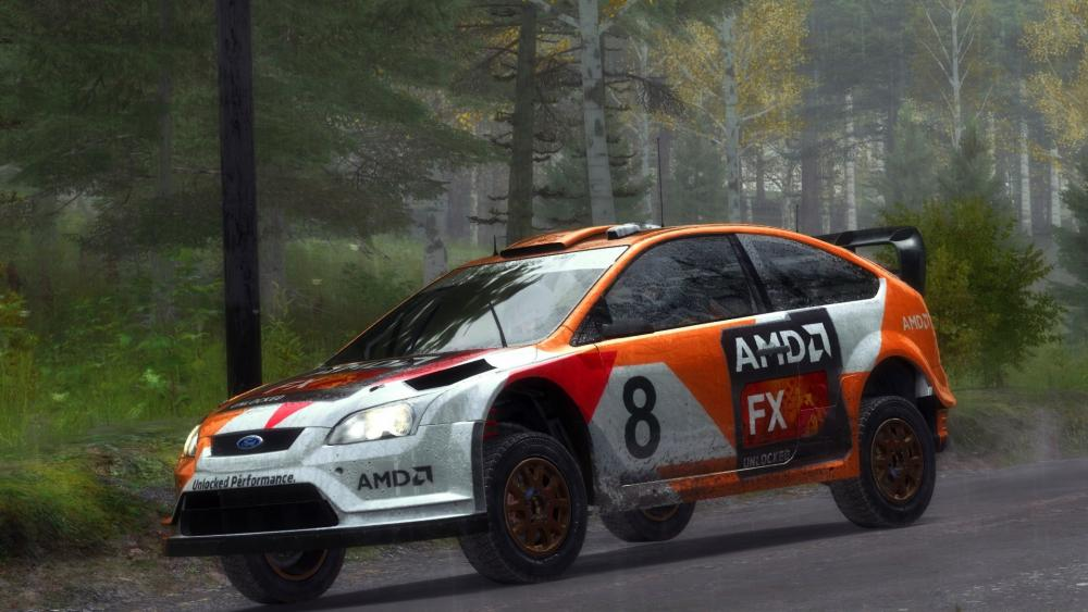Ford Focus RS (AMD FX RALLY EDITION) wallpaper