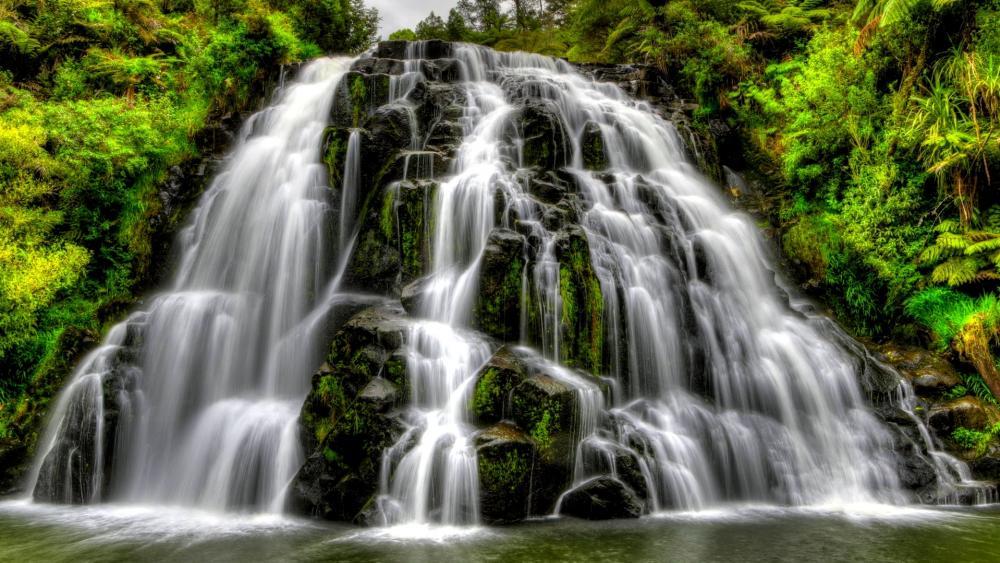 Owharoa Falls, Karangahake Gorge wallpaper
