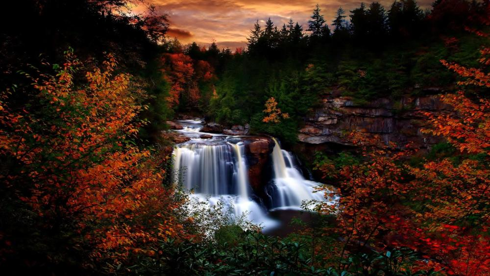 Blackwater Falls State Park wallpaper