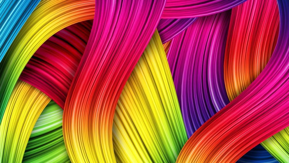 Colorful Entanglement wallpaper