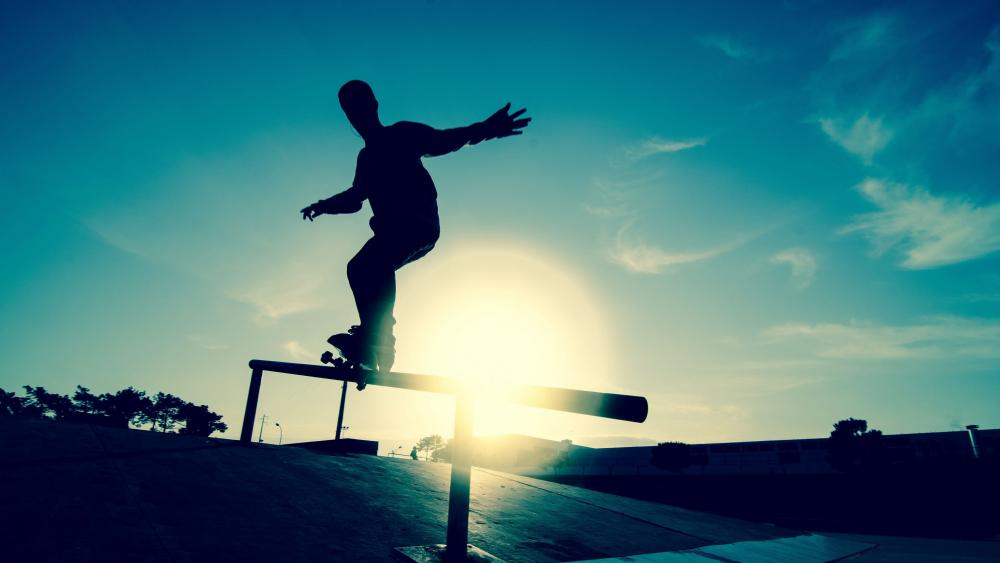 Skateboarder wallpaper