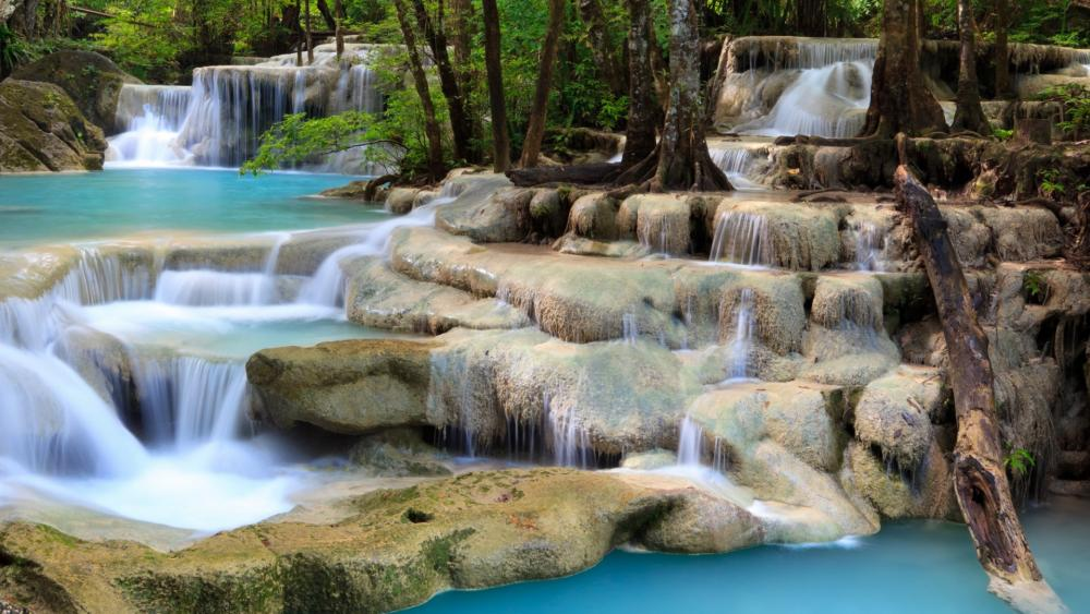 Erawan National Park wallpaper