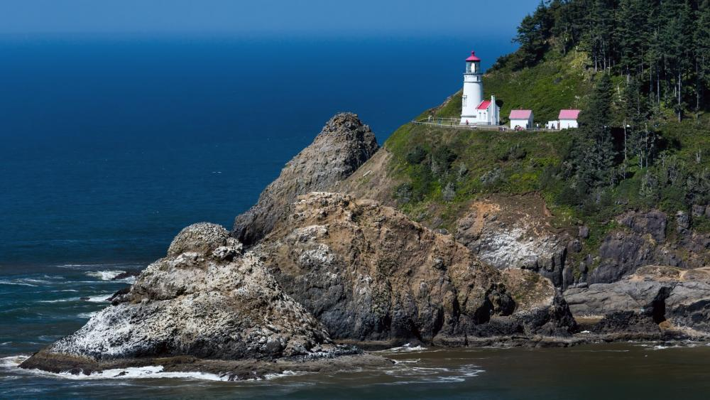 Heceta Head Lighthouse State Scenic Viewpoint wallpaper
