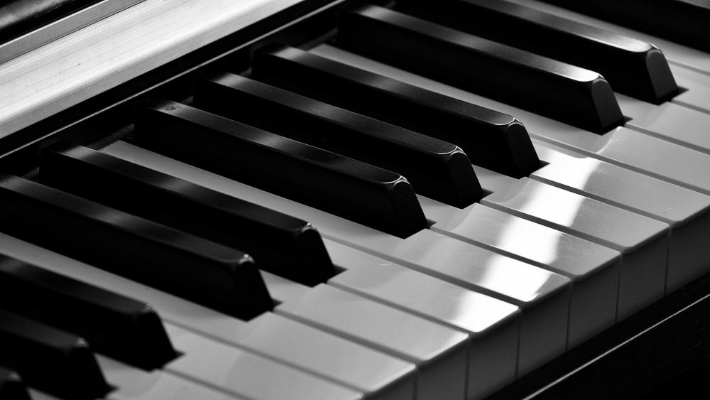 piano key wallpaper