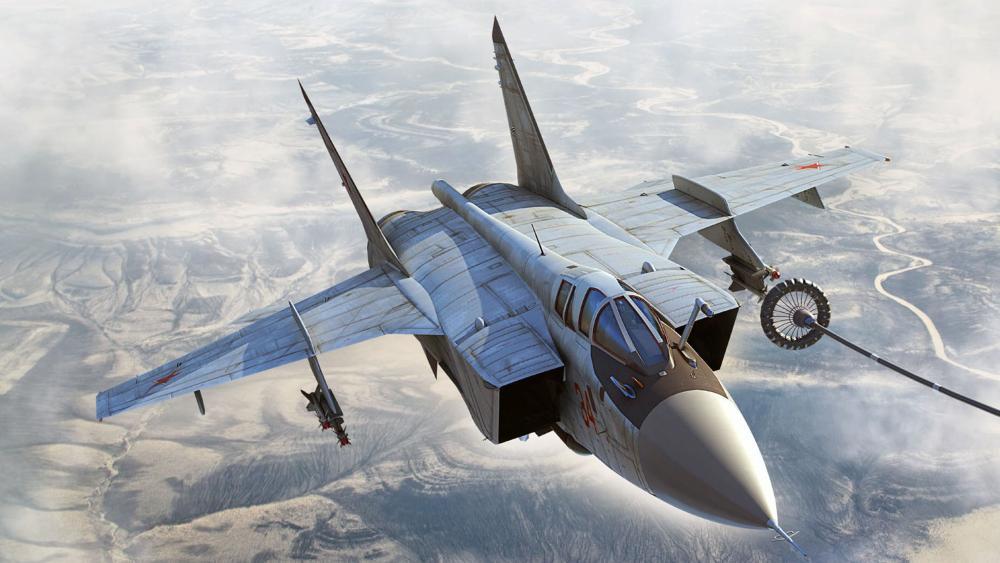MiG-31B wallpaper