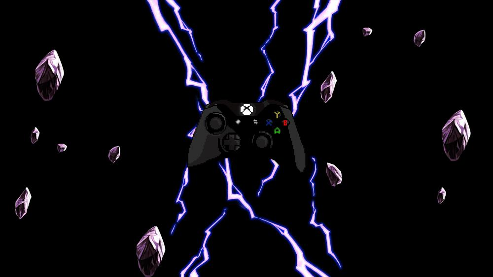 Xbox One Controller black wallpaper