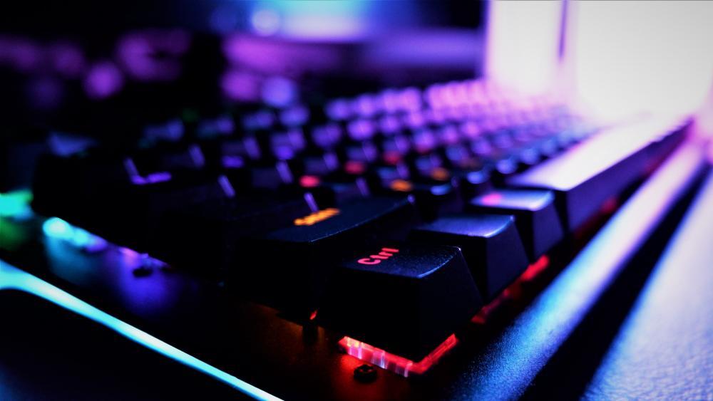 Gaming Keyboard RGB wallpaper