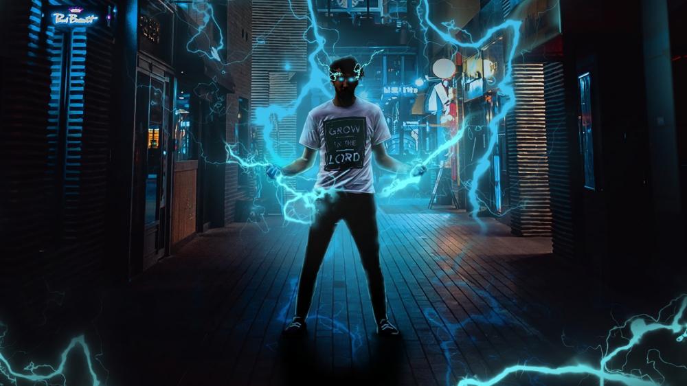 Super power guy wallpaper