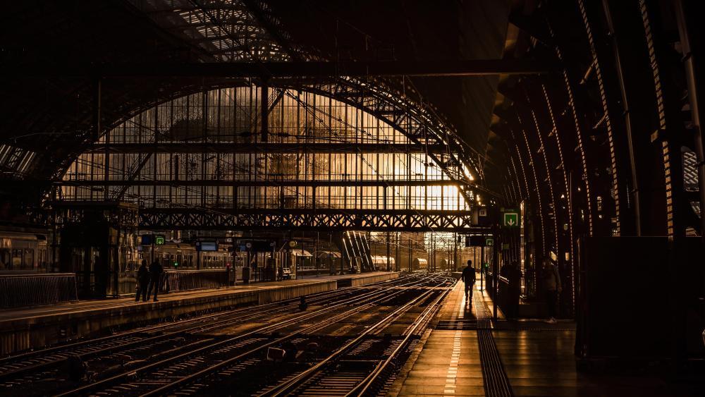 Railway Station wallpaper