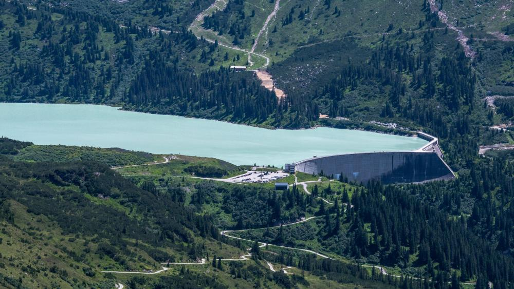 Kops Reservoir in Austria wallpaper