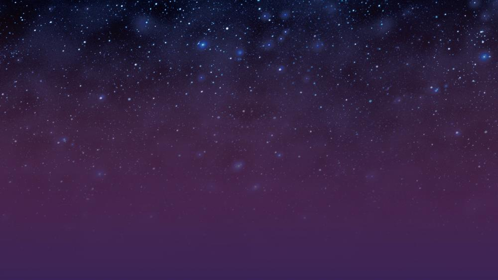 Starry space wallpaper