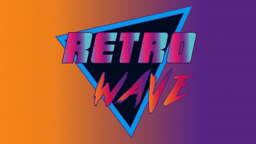 Retro wave wallpaper