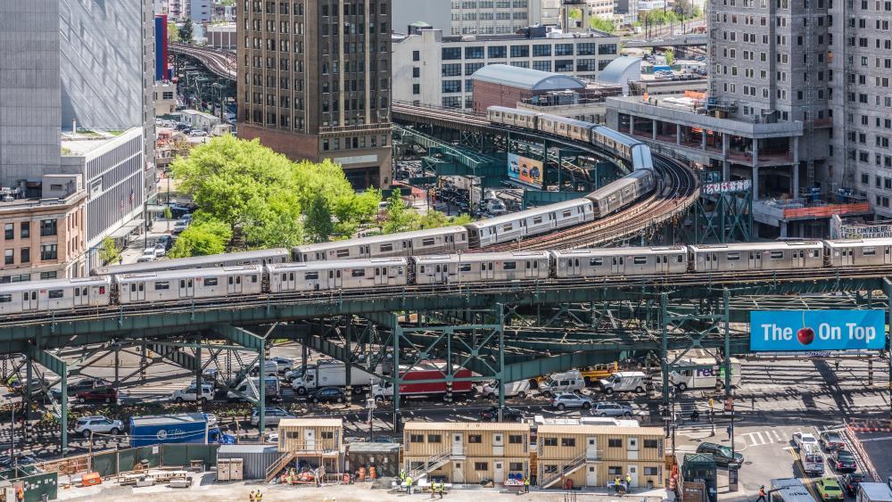 NYC Subway wallpaper