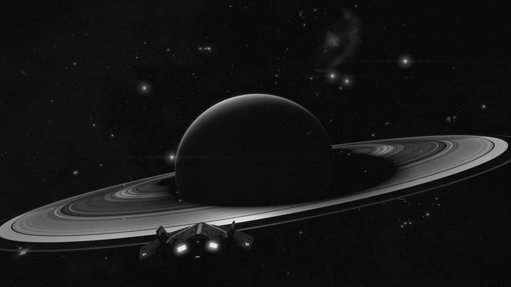 Arrival to Saturn wallpaper