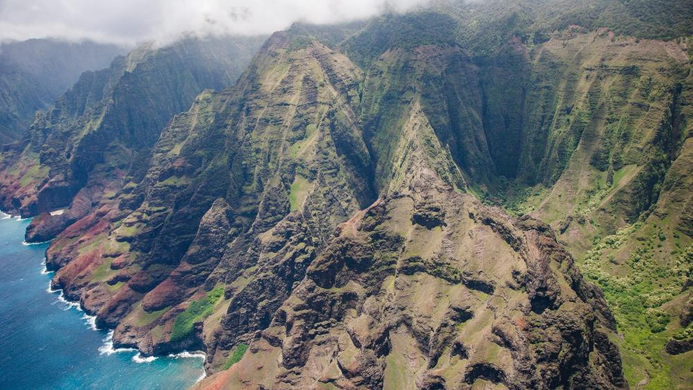 Kauai island, Hawaii wallpaper