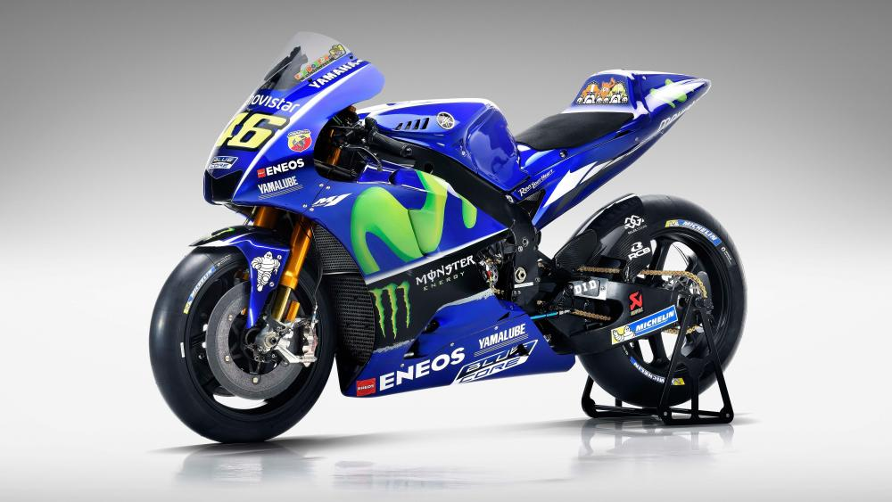 Yamaha MotoGP racing wallpaper
