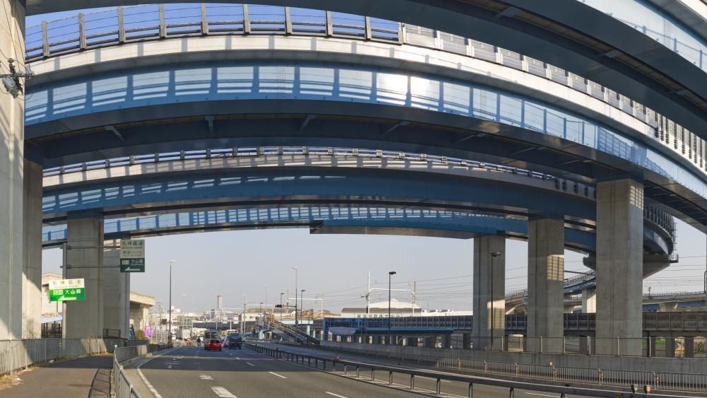 Oyamazaki Interchange Panorama wallpaper