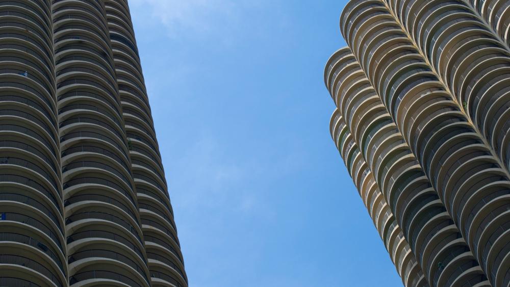 Marina City, Chicago wallpaper