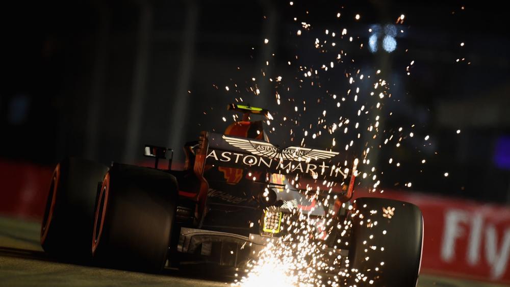 Formula 1 Red Bull Singapur wallpaper