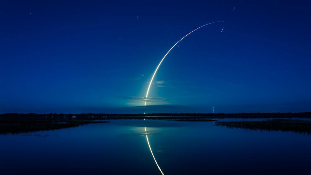 SpaceX Mars program wallpaper